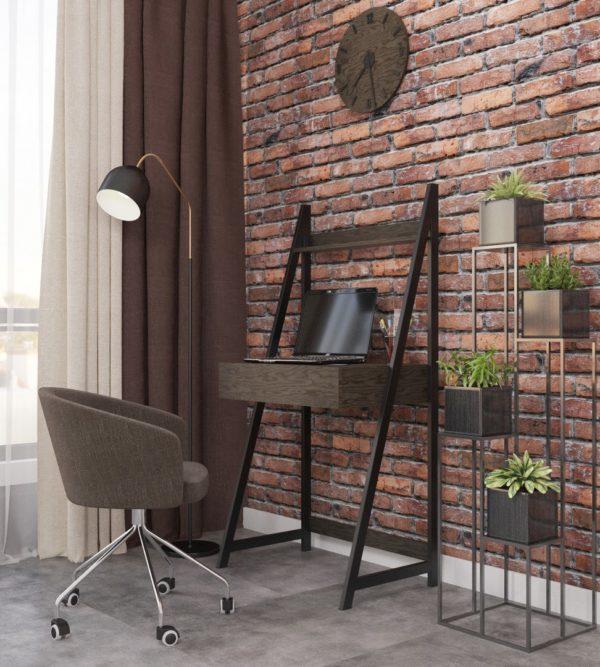 стіл робочий в стилі лофт Дуо